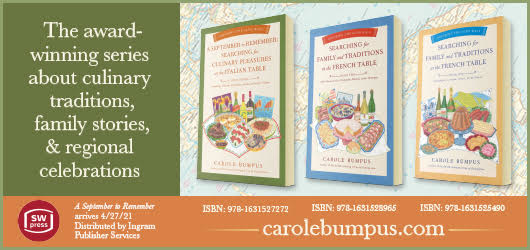 The award-winning series about culinary traditions, family stories, & regional celebrations SW Press Carolebumpus.com