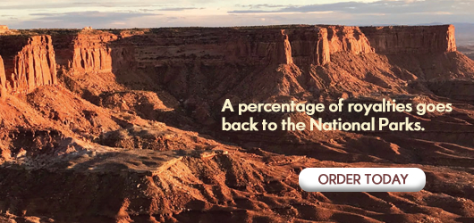 A percentage of royalties goes back to the National Parks Order Today