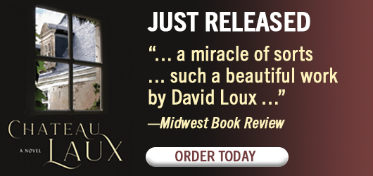 """Chateau Laux Just Released """"…a miracle of sorts…such a beautiful work by David Loux…"""" Midwest Book Review Order Today"""