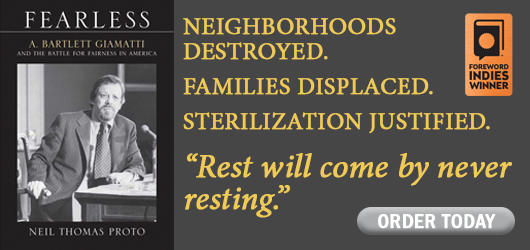"""Fearless-Neil Thomas Proto- Neighborhoods destroyed. Families Displaced. Sterilization justified. """"Rest will come by never resting."""" Order Today Foreword Indies Winner"""