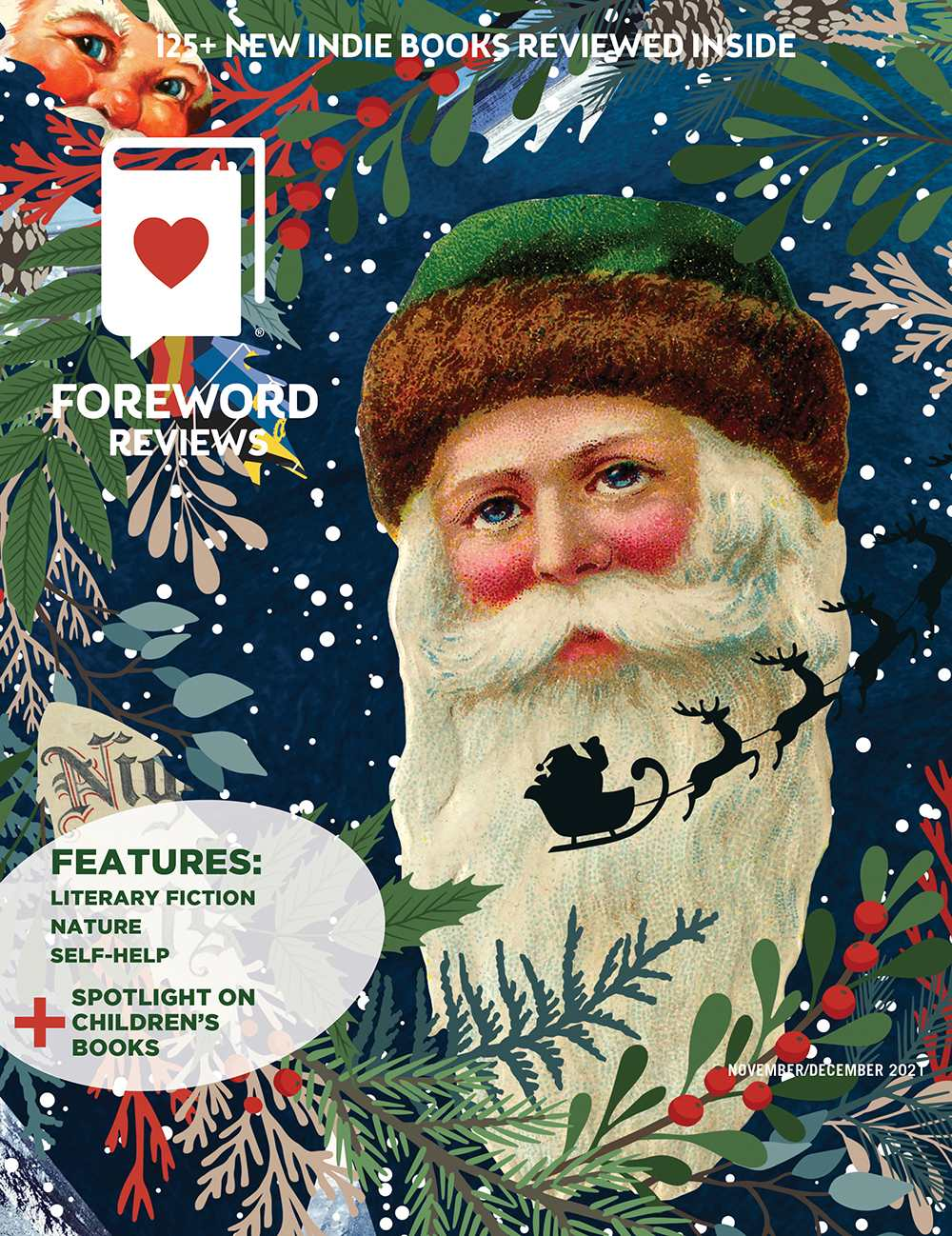 Foreword Reviews November/December 2021 front cover image