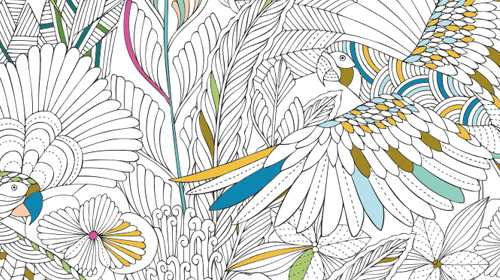 8 Coloring Books For Grown Ups To Soothe Your Inner Child Articles Foreword Reviews