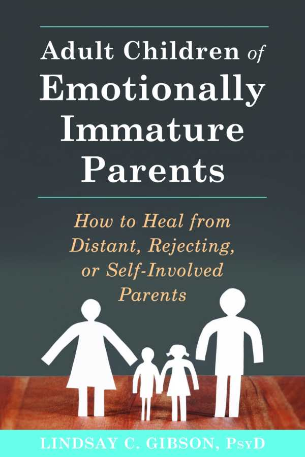 Emotional immaturity in adults
