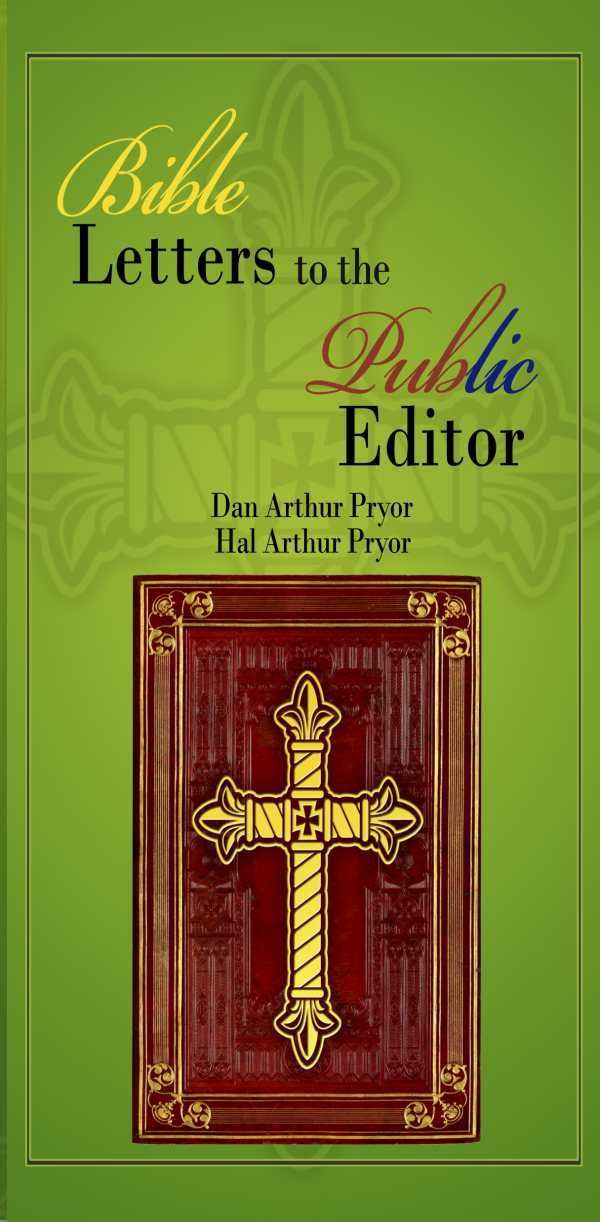 review of bible letters to the public editor 9781480945357 foreword reviews