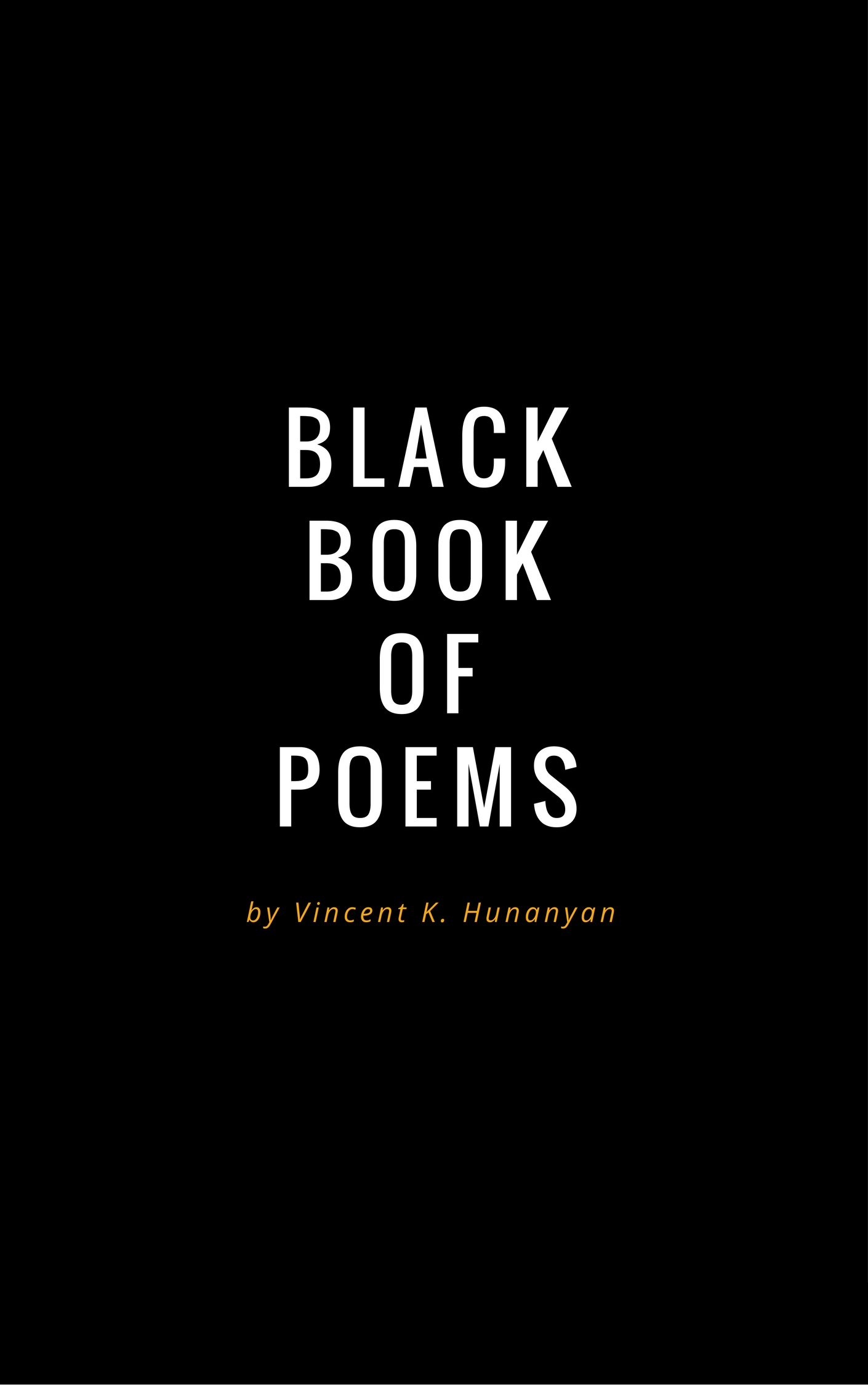 Poetry Book Covers : Review of black book poems  — foreword