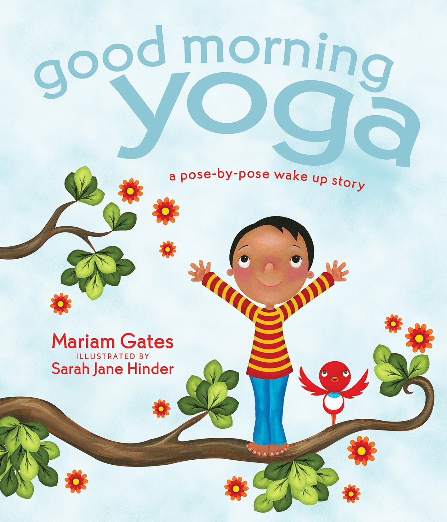 Book Cover Layout Yoga : Rights available for good morning yoga — foreword reviews