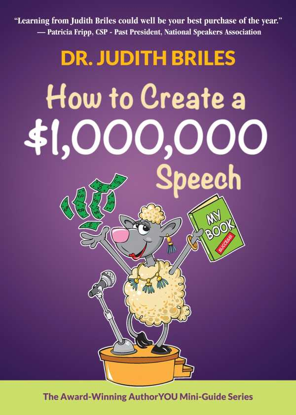 How to Create a $1,000,000 Speech (2018 Foreword INDIES
