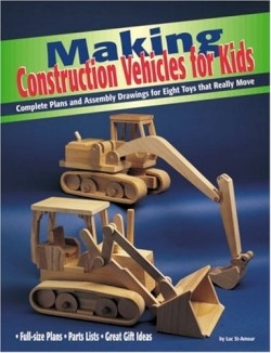 review of making construction vehicles for kids 9781565231511