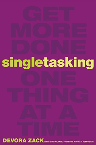 Image result for single-tasking book