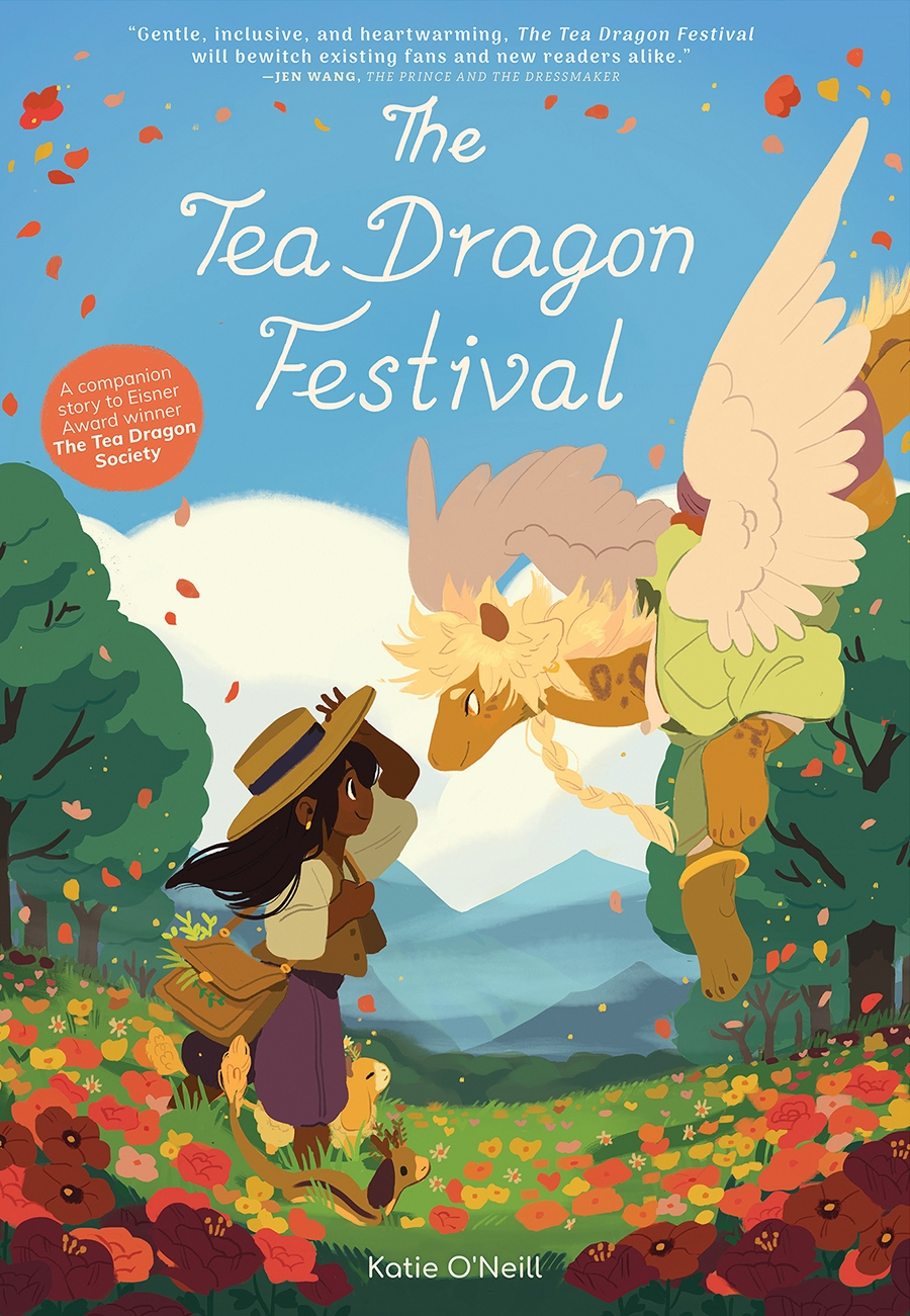 Review of The Tea Dragon Festival (9781620106556) — Foreword Reviews