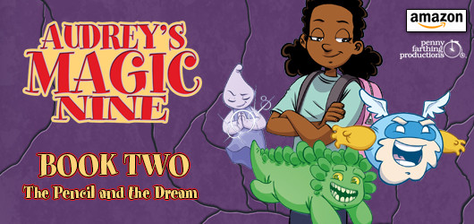 Audrey's Magic Nine, BOOK TWO
