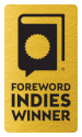 Gold INDIES Winner seal for use on websites.