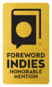 Honorable Mention INDIES Winner seal for use on websites.