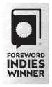 Silver INDIES Winner seal for use on websites.