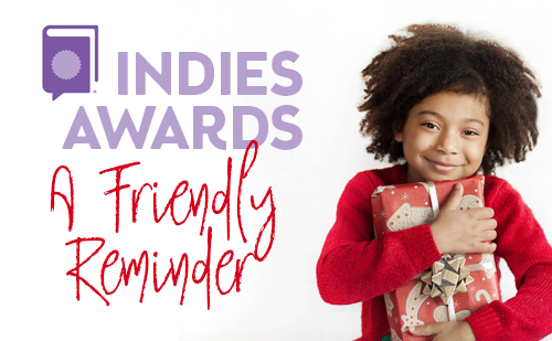 Indies Friendly reminder and cute girl with present