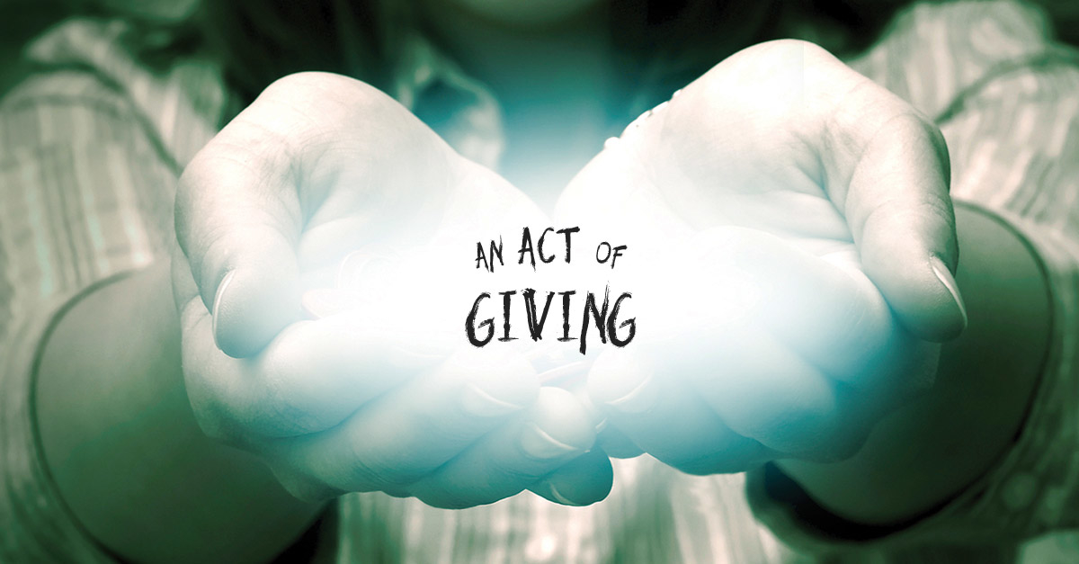 An Act Of Giving Fall 2015 Foreword Reviews