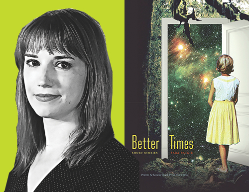 Better Times cover and Author